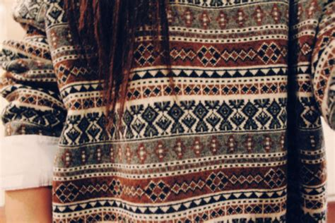 aztec pattern jumper sweater grey red black white aztec jumper christmas