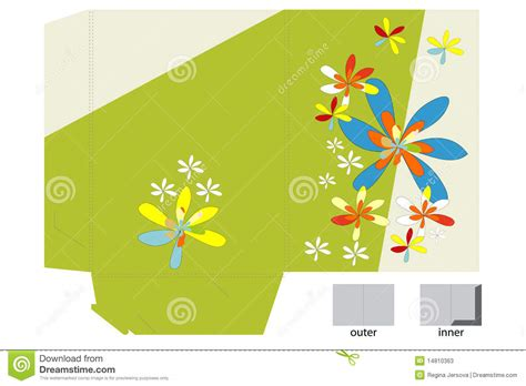 Greeting Card Folder Template by Template For Folder Design Stock Photos Image 14810363