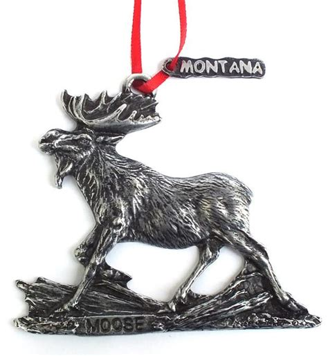 wildlife montana christmas ornaments