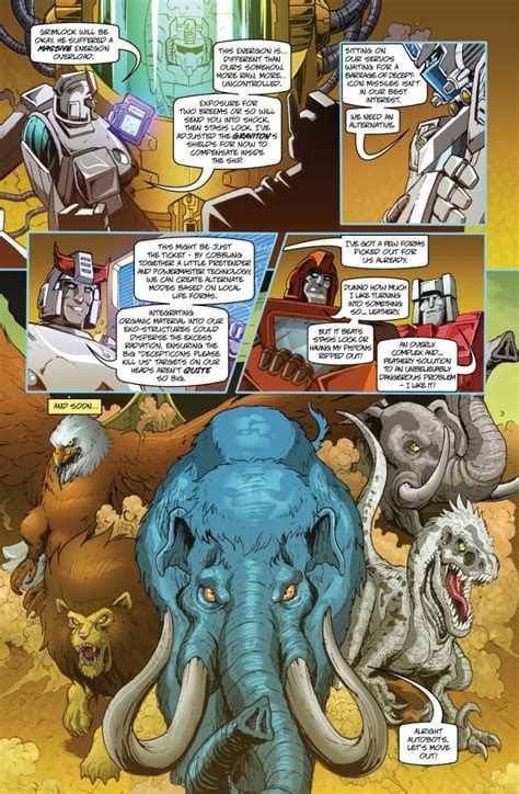 best wars comics tfcc 2013 comic is beast wars shattered glass