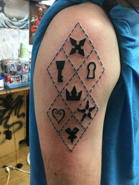 tattoo ideas king of hearts tatouage kingdom hearts