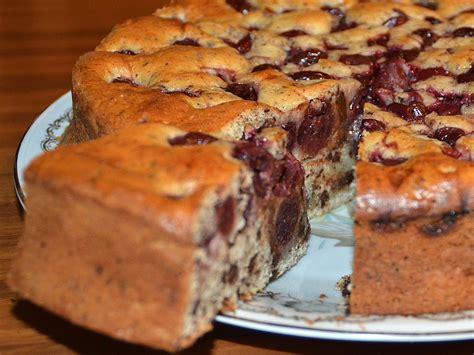 rezept kuchen mit kirschen rezept kuchen ruhrkuchen mit kirschen beliebte