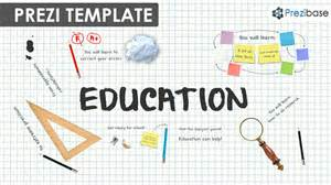 education prezi template prezibase