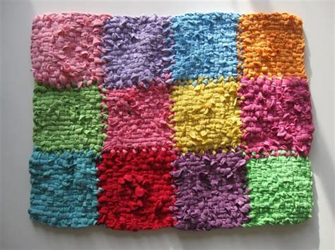 potholder rug loom upcycled rug from tshirts woven on a potholder loom would be great to make purses throw