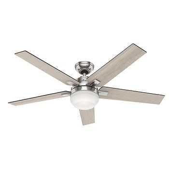 exeter led ceiling fan apex 54 quot led reversible blade ceiling fan