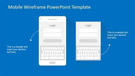 apply powerpoint template mobile wireframe powerpoint template slidemodel