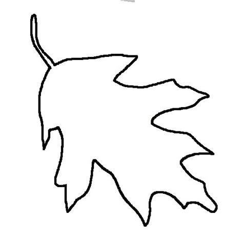 printable blank leaves blank leaf template clipart best