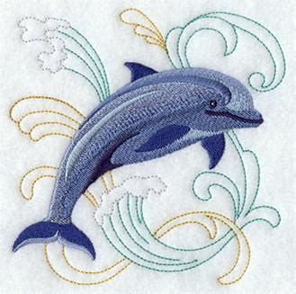 embroidery design dolphin machine embroidery designs at embroidery library dolphins