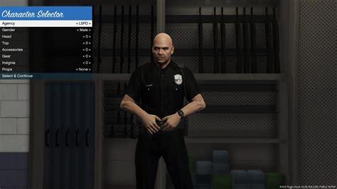 mod gta 5 lspd black lspd uniform gta5 mods com