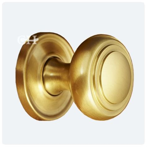 Satin Brass Door Knobs by 6348 Door Knobs In Chrome Nickel Brass Or Bronze