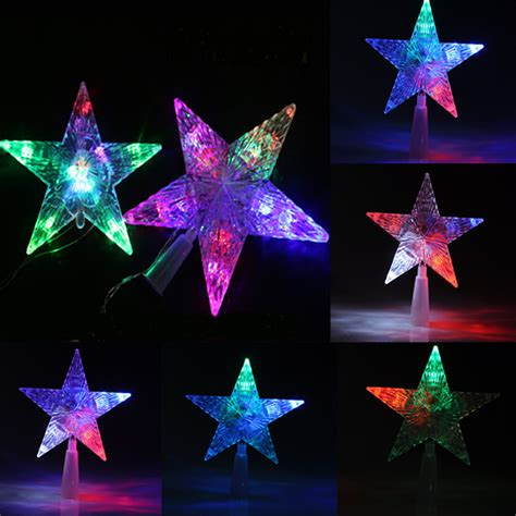 christmas tree topper star lights l is needed for