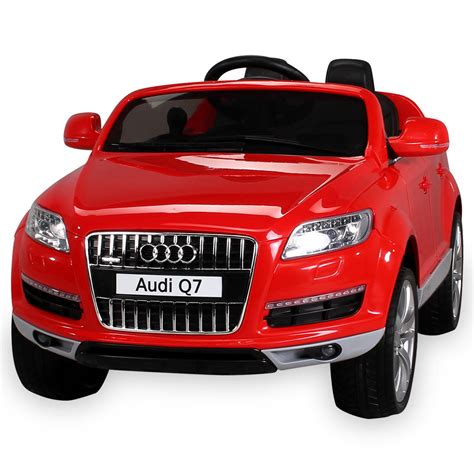 Kinderle Auto by Elektro Kinderauto 2 Sitzer Audi Q7 Lizenziert