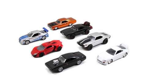 Fast Furious Satu Set Skala 155 fast furious build n collect set brian s toyota