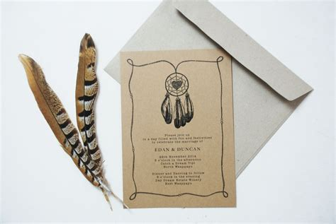 bohemian wedding invitations template best template