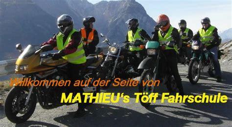 Motorrad Fahrschule Visp by Mathieu S T 246 Ff Fahrschule
