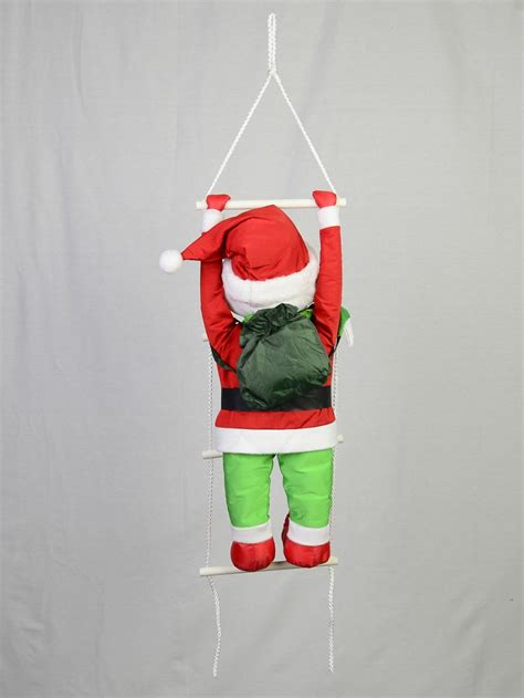 padded hanging elf   ladder cm large decor inflatables buy