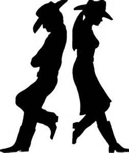 cowboy silhouette silhouette cameo ideas pinterest