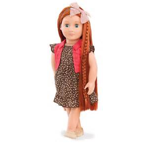 hairstyles for our generation dolls peyton our generation peyton og doll ginger red head