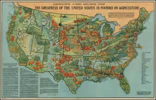 south america agriculture map map american agriculture in 1922