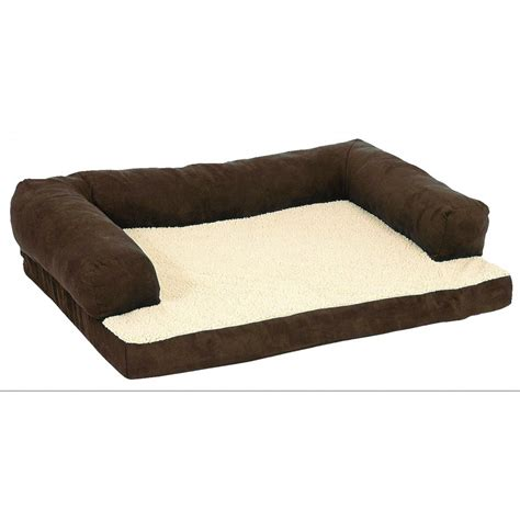 large 54 x 34 beasleys bed bolstered orthopedic pet bed 54 x 34 in products