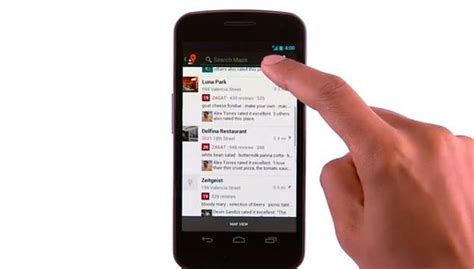 zagat for android maps for android updated to integrate zagat restaurant reviews