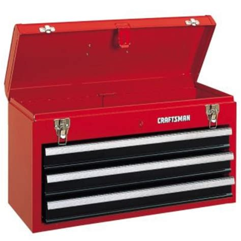 Craftsman 3 Drawer by Craftsman 3 Drawer Steel Tool Chest Box 1 558 Cubic