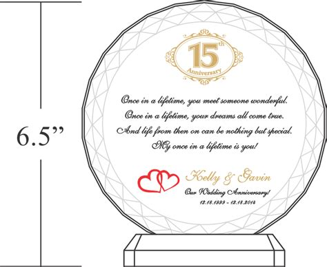 15th Wedding Anniversary What Gift by Wedding Gifts 15 Year Anniversary Imbusy For