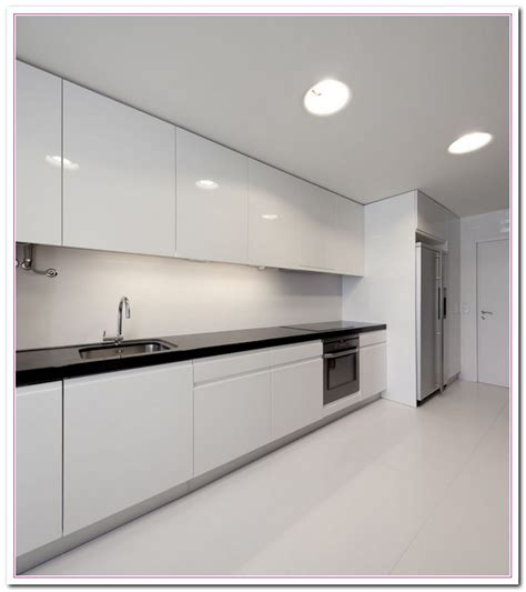 white modern kitchen cabinets white colored kitchen and granite countertop selection