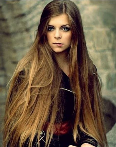 models with very long thick hair hairstyles for very long thick hair