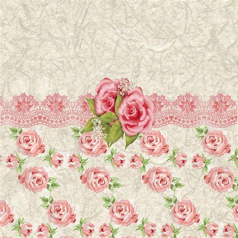 pink retro pattern vintage pink and cream rose pattern vintage pink and