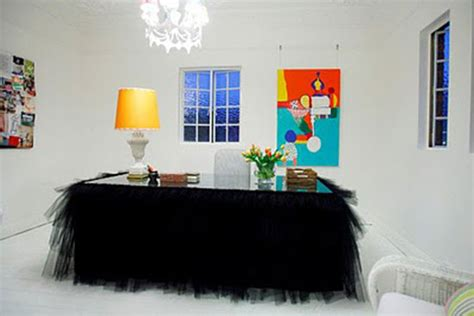 Desk Skirt by Tutu Table Skirt Ideas They Re Not Just For