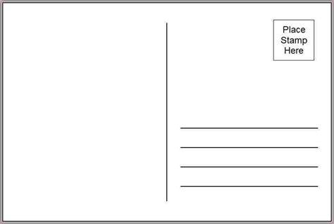4x6 Postcard Template Doliquid 4x6 Template Word