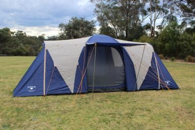 3 Room Family Dome Tent by Diamantina Discovery 6 3 Room Family Dome Tent To Sleep