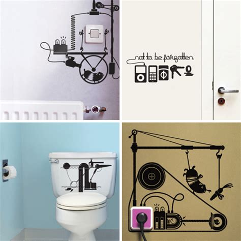witzige wandtattoos hu2 wall stickers design milk