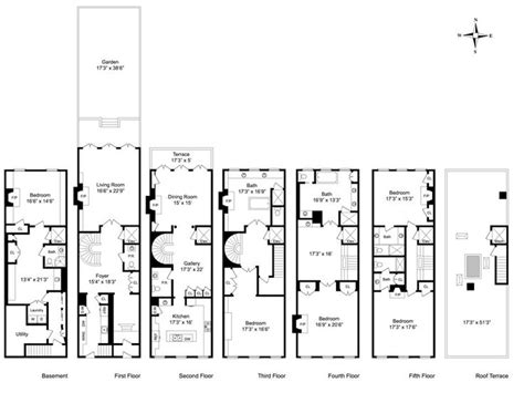 District House Floor Plans - historical mansion floor plans new orleans garden district