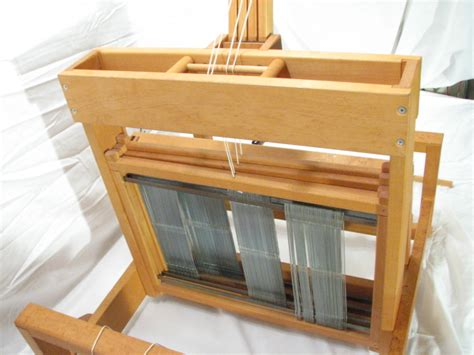 Schacht Table Loom by Schacht Spindle Table Top Weaving Loom Wooden Tool Ebay