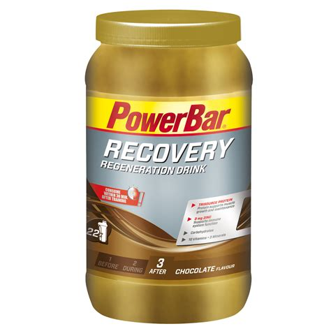 one drink wiggle powerbar recovery drink 1 2kg tub energy