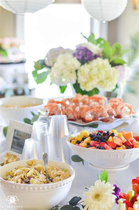 wedding shower food ideas ideas to throw an indoor garden bridal shower kelley nan
