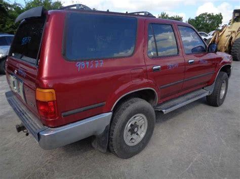 1993 toyota rear bumper 1993 toyota 4runner rear 190 bumper assembly rear