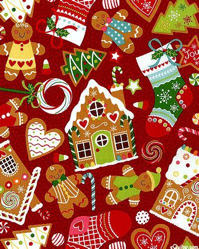 christmas pattern background hd christmas fabric gingerbread theme wallpaper pinterest