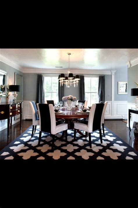 Black And White Dining Rooms by 160 Best Images About Black And White Dining Room On