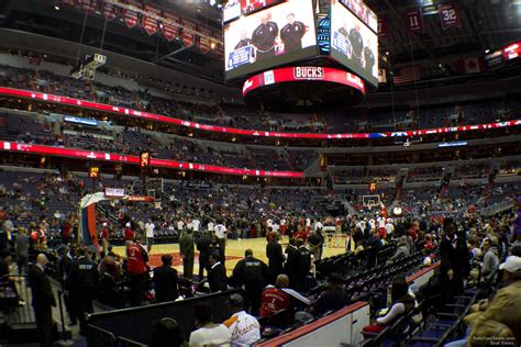 verizon center section 120 capital one arena section 120 washington wizards