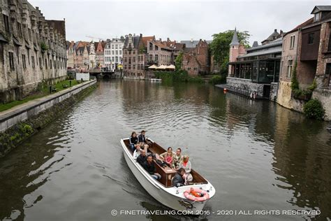 boat tour ghent ghent boat tours things to do in ghent fine traveling