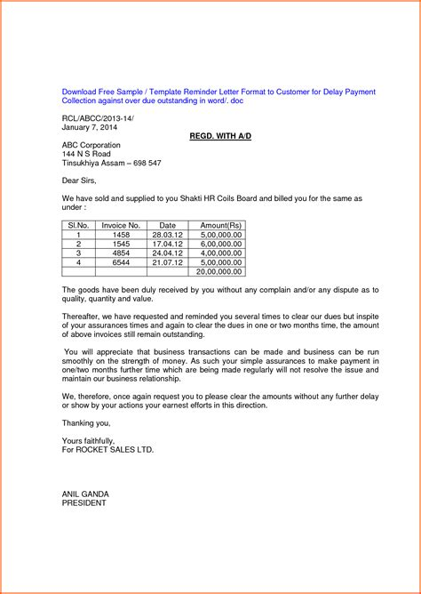 Invoice Withdrawal Letter How To Write An Outstanding Invoice Reminder Letter Complaint And Dispute About A Bill