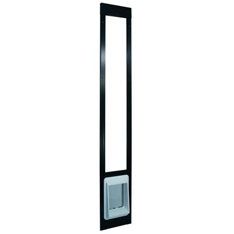 Cat Flap Patio Door Electronic Patio Pet Door Shorty Bronze