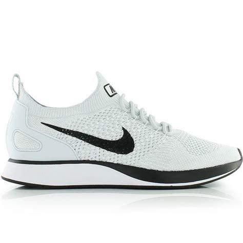 Sepatu Sneakers Nike Air Zoom Racer Flyknit White Blue Orange nike air zoom flyknit racer platinum white bei kickz