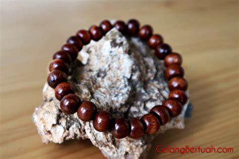 Gelang Kayu gelang kayu stigi asli untuk kesehatan dan pengasihan