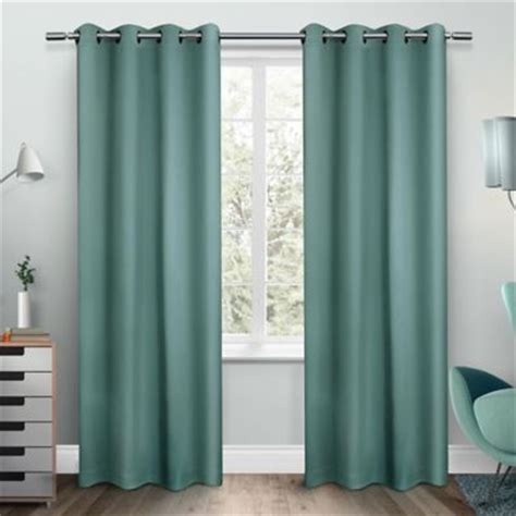 teal blue curtain panels buy teal curtain panels from bed bath beyond