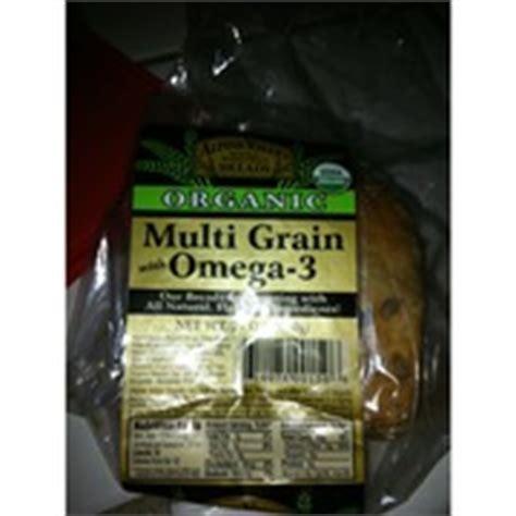 whole grain omega 3 bread alpine valley multi grain with omega 3 bread calories