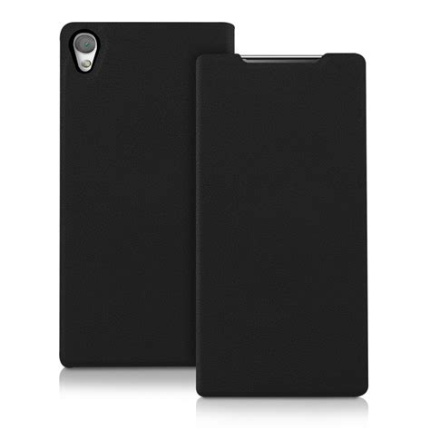 Flip Shell Blackberry Z5 Black flip cover for sony xperia z5 premium black slim back shell mobile ebay